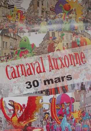 Carnaval d'Auxonne dans EUM' VIE 1affiche2008